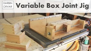 Make Boxes On A Table Saw W/ Box Joint Jig