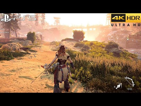 Horizon Zero Dawn (PS5) 4K HDR Gameplay