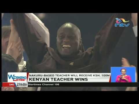 Kenya's Peter Tabichi wins Global Teacher Prize 2019