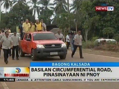 BT: Basilan circumferential road, pinasinayaan ni PNoy