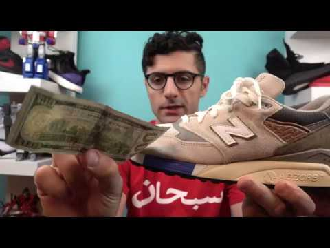 Concepts New Balance 998 C Note Review