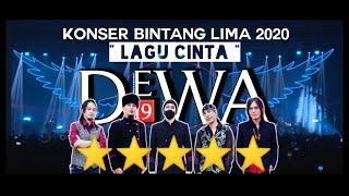 DEWA 19 ft ONCE - LAGU CINTA (KONSER 20 TAHUN BINTANG LIMA) #DEWA19