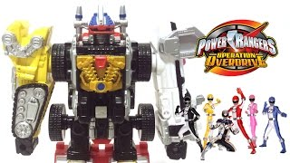 Power Rangers Operation Overdrive GoGo Sentai Boukenger Megazord Toy Figure From Tokusatsu Movie