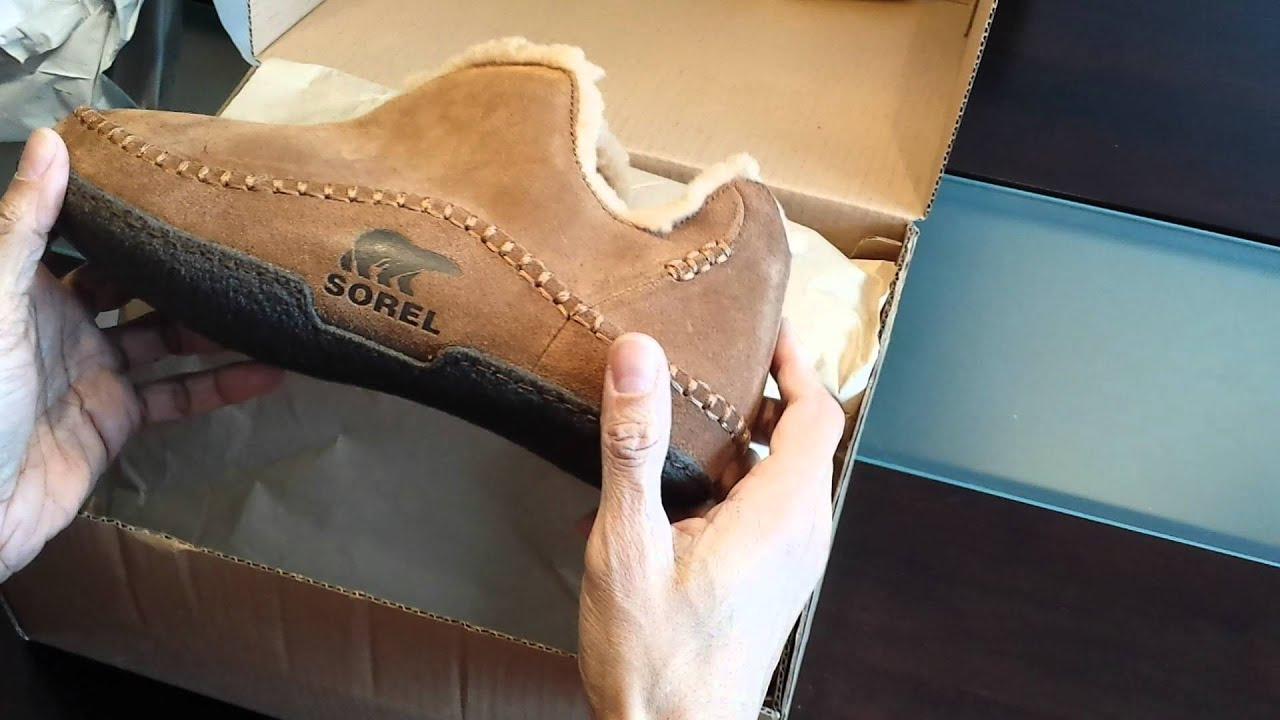 100493f456e2 Sorel Manawan Slipper - Unboxing and Review - YouTube