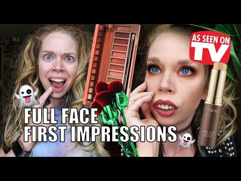 FULL FACE FIRST IMPRESSIONS! SPOOKY LATE NIGHT EDITION!