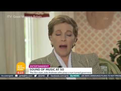 Julie Andrews reveals how she met...