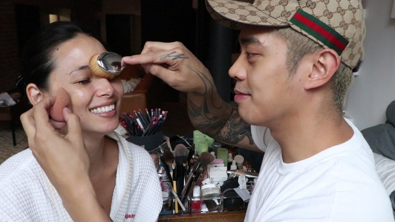 My Boyfriend Does My Makeup   Aja Dang - YouTube
