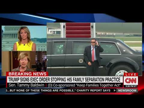 Sen. Baldwin Dodges on Whether She Called Out Obama Administration for Family Separation
