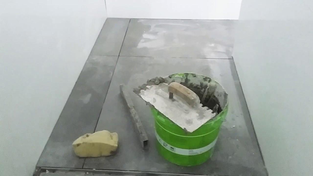 Drain badkamer tegelen - YouTube
