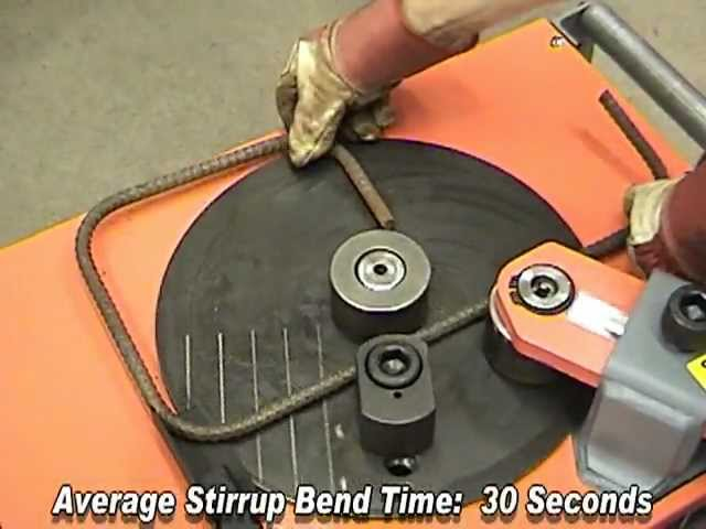 Rebar Bender and Rebar Cutter Videos