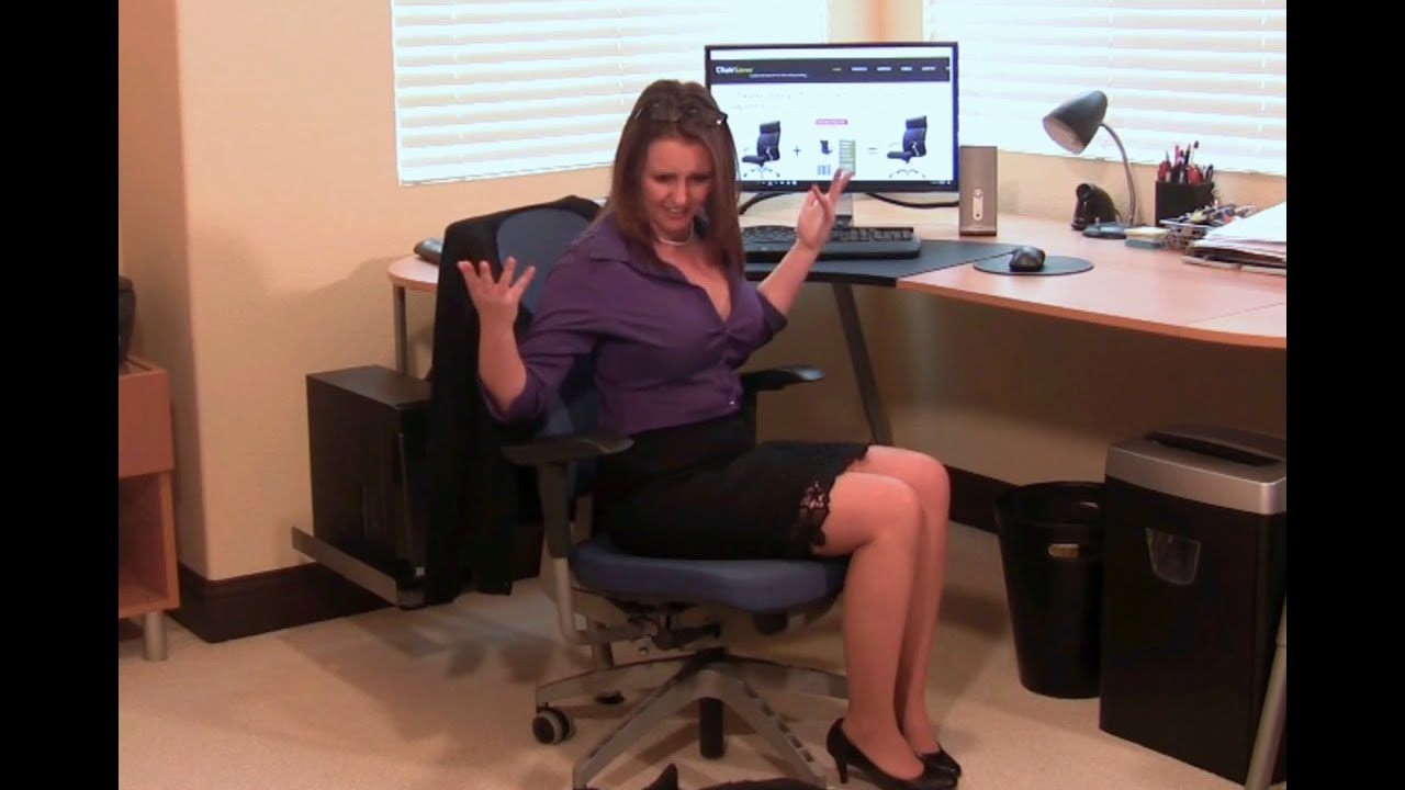 How To Fix A Sinking Office Chair With A Chair Saver Kit