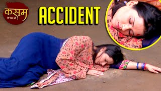 SHOCKING!!! Tanuja Meets With An Accident Again   Kasam Tere Pyaar Ki