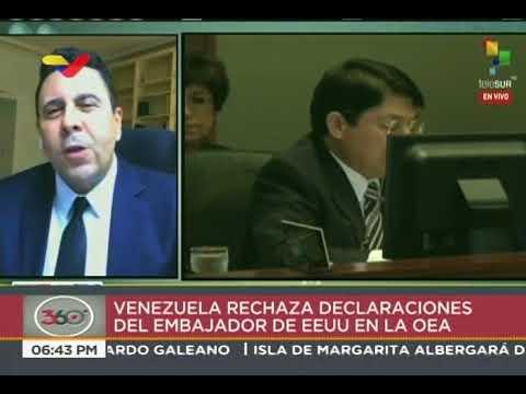 Samuel Moncada, embajador de Venezuela en la OEA, sobre palabras de Carlos Trujillo