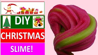 DIY FUN HOLIDAY SLIME RECIPES! How To Make Slime For Christmas!