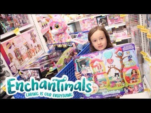 Toys R Us Toy Haul : Enchantimals LOL Dolls Barbie Monster High Fingerlings Littlest Pet Shop