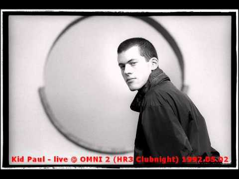 Kid Paul - live @ OMNI After Mayday Party 1992.05.02 Omen / Frankfurt