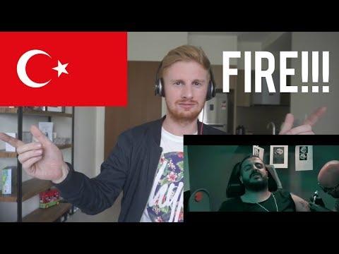 Velet - Beyin Lazim (Official Video) // TURKISH RAP REACTION