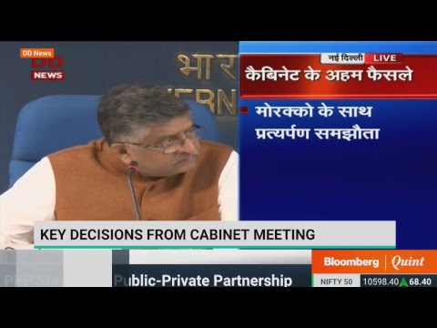 Cabinet Briefing By Ravi Shankar Prasad