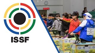 10m Air Pistol Women Final - 2017 ISSF World Cup Stage 1 in New Delhi (IND)