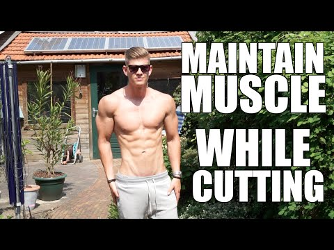 How To Prevent Muscle Loss While Losing Fat (Cutting)