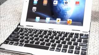 how to use bluetooth keyboard with aluminum case for ipad 2 the new ipad