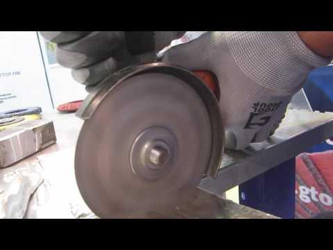 Отрезные круги CIBO по алюминию.