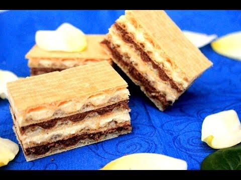Šarene oblatne - Video - Sitni kolači - Eng Sub
