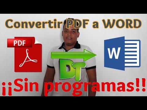convertir-pdf-a-word-2019-sin-programas