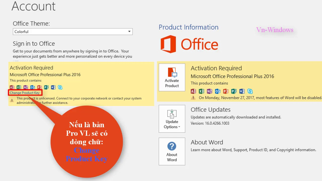 download office 2016 full crack + key bản quyền