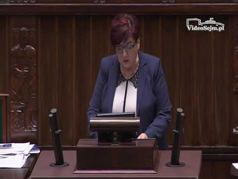 Krystyna Wróblewska – wystąpienie z 22 listopada 2017 r.