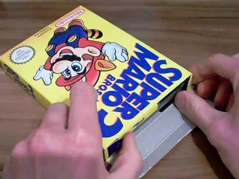 Super Mario Bros. 3 (NES) CIB (NEAR MINT) Unboxing
