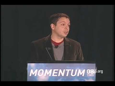 "Markos Moulitsas: ""Technology for and by the People"" (1 of 2) TIdes Momentum 2008"