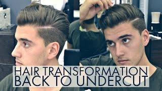 Hair Tranformation   Undercut Haircut   Mens Hair 2016-2017