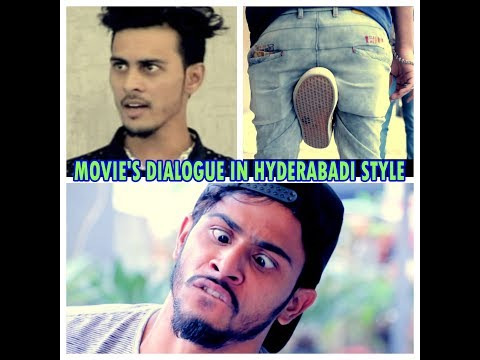 MOVIE'S DIALOGUE IN HYDERABADI STYLE || BY UNIQUE CREATION ||