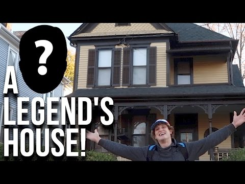 Thumbnail: I CAN'T BELIEVE WHO LIVED HERE!