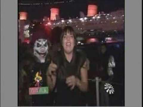Dahlia Dark  on Telemundo TV  at Shipwreck 2007