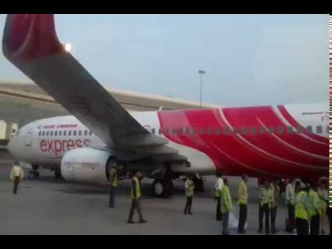MY JOURNEY FROM sharjah  To  Mumbai ,Air india express 2018
