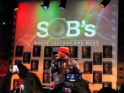 KRS-ONE MC's Act Like They Don't Know SOB's NYC August 15 2013