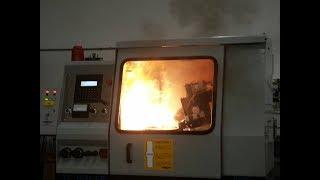 cnc lathe work accident crash complation  new 2018 cnc program