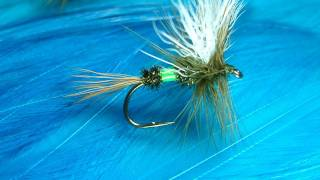 Tying the Green Royal Coachman by Davie McPhail.