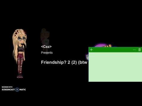 (12+) Friendship? 2 l Jen And Cez Msp l