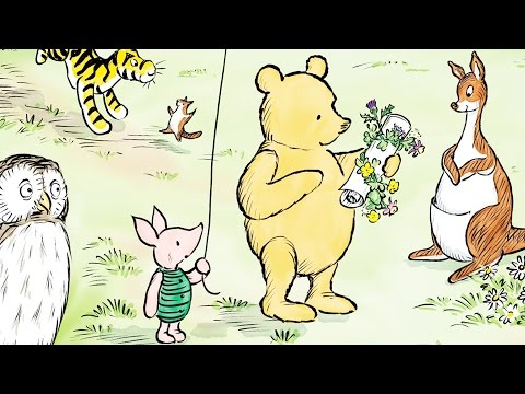 Winnie-the-Pooh Finally Meets Queen Elizabeth in 90th Anniversary Story