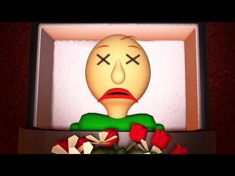 Похороны Балди (Baldi's Basics 3D анимация)