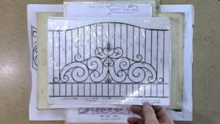 видео Кованые ворота: фото, эскизы, идеи