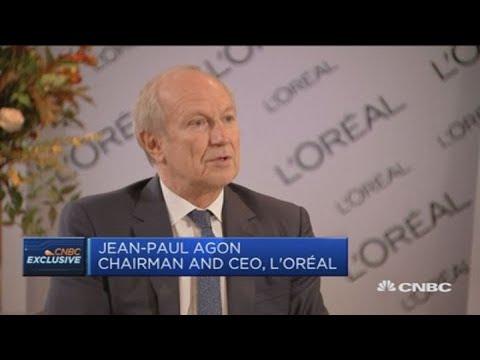 L'Oreal CEO: See no slowdown in China | Squawk Box Europe