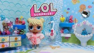 КУКЛЫ ЛОЛ, как сделать ванну для кукол LOL SURPRISE своими руками.