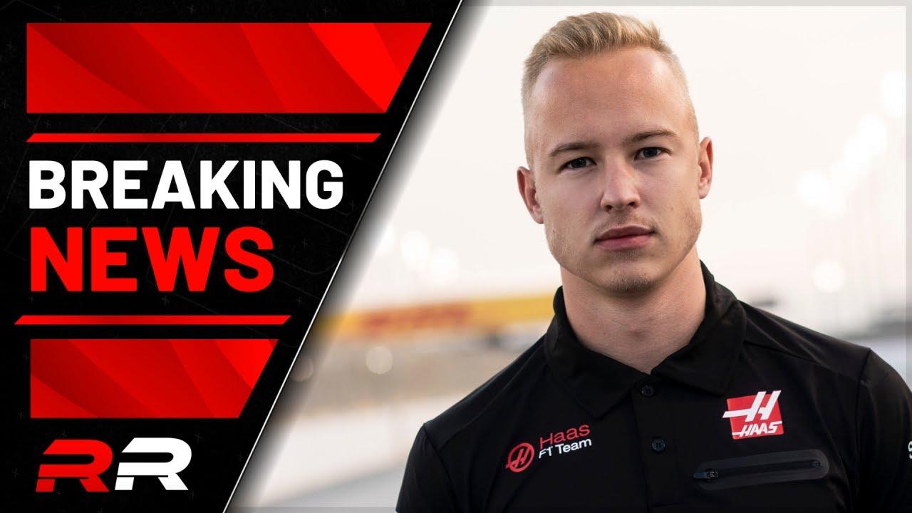 Haas Sign Nikita Mazepin for F1 2021 Season