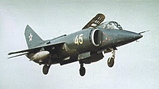 Yak 38 Vtol Attack Aircraft : Russias Harrier Equivalent - Made In The Ussr