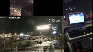 Las Vegas Shooting Synchronized Videos, First 10 Minutes re-upload