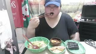 충무김밥 만들어먹기/집에있는 재료사용